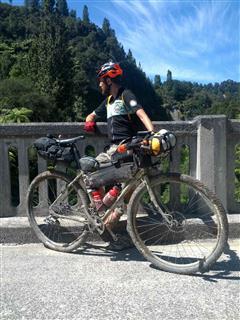 Photo of Tour Aotearoa 2016: Rider Michael Dann