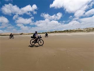 Photo of Tour Aotearoa 2018: Rider John McKnight, Ninety Mile Beach, Control Point 2