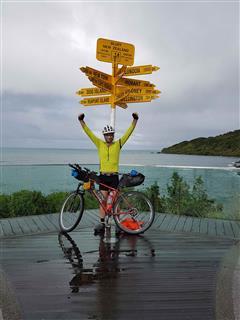 Photo of Tour Aotearoa 2018: Rider Michael Loten