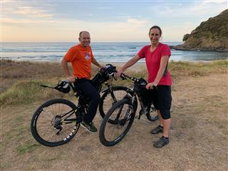 Photo of Tour Aotearoa 2020: rider Gary & Kris Jarvis, all set