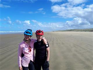 Photo of Tour Aotearoa 2018: Rider Kirsty Moran & Ian Marshall